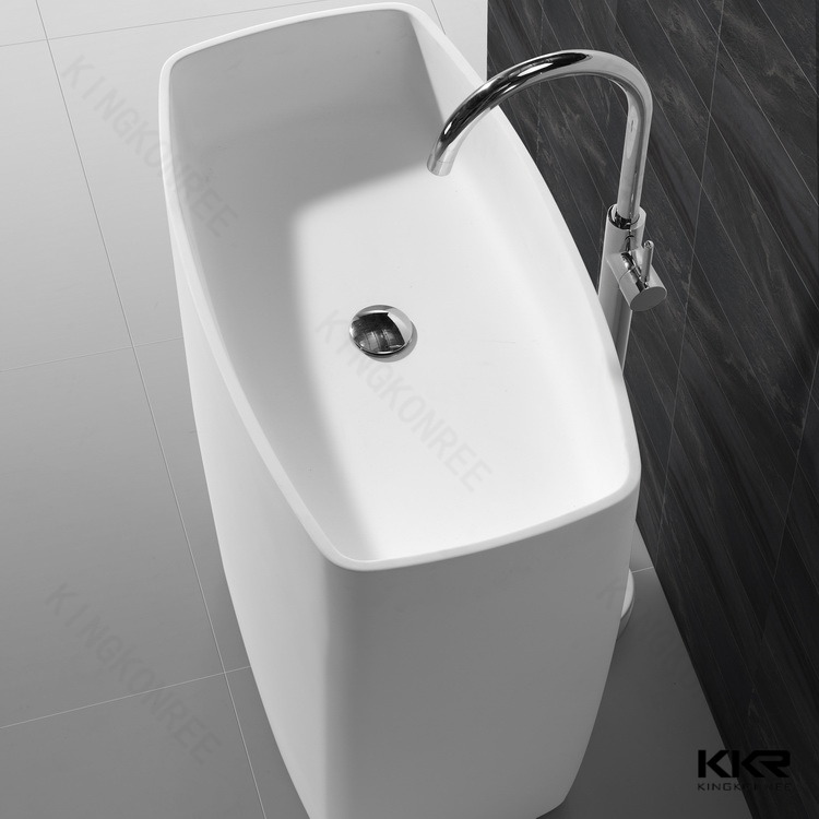 Lavabo freestanding in pietra artificiale KKR-1586