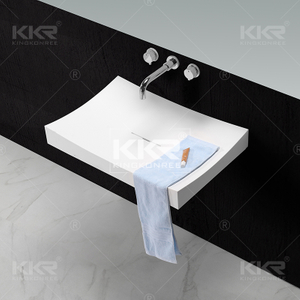 Solid Surface Sanitary Ware Basin KKR-1347