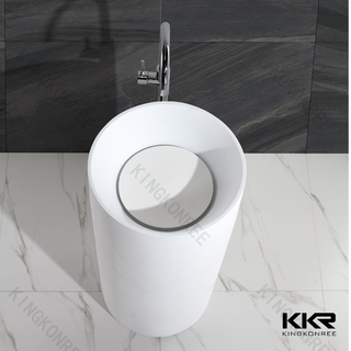 Lavabi rotondi in Solid Surface KKR-1381