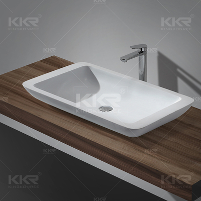 Lavabo bagno in Solid Surface KKR-1322